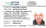 Mauro Bertorelle - Certificazione di Frigorista